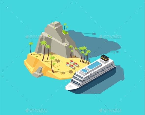 Isometric Island - Man-made Objects Objects