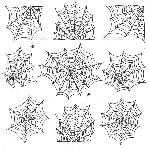 Spiderweb - Organic Objects Objects