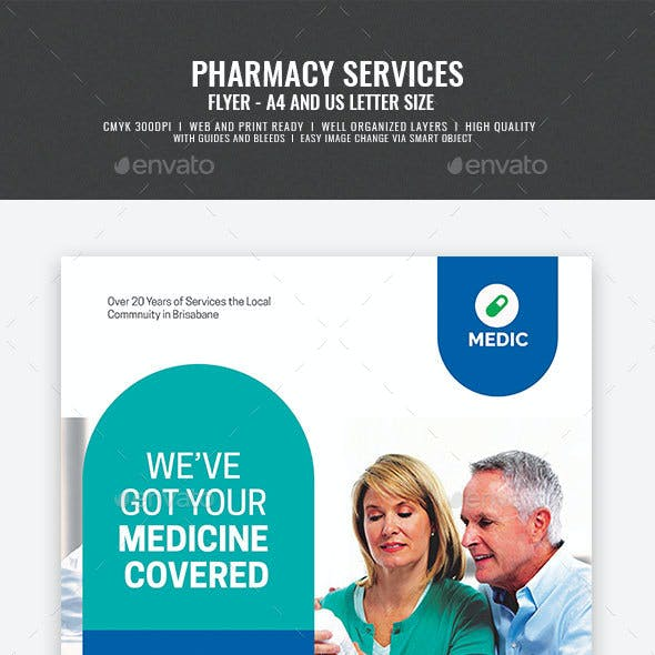 Pharmacy Drug Store Flyer