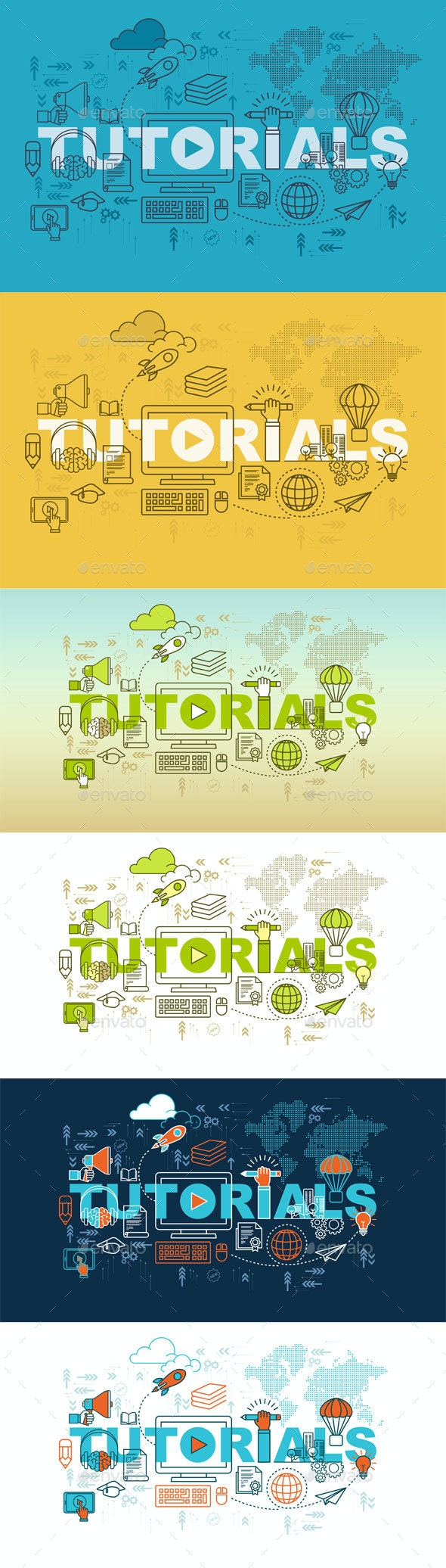 Tutorial Web Page Banner