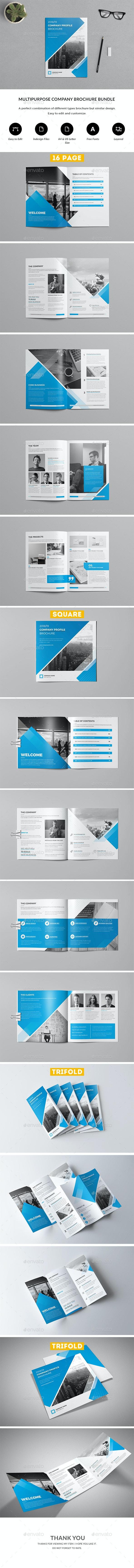 Company Profile Brochure Bundle - Corporate Brochures
