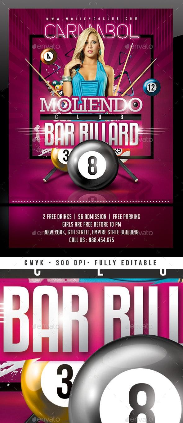 Bar Billiard Club - Sports Events