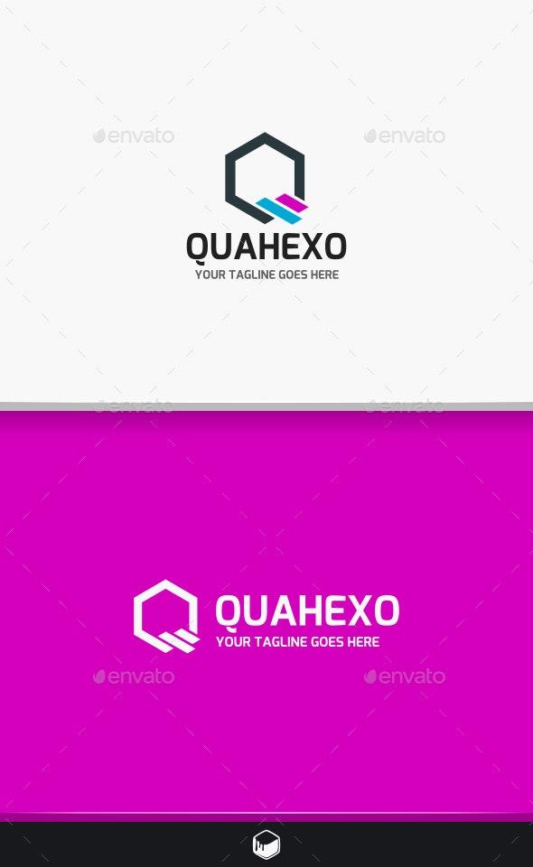 Hexagon Letter Q Logo - Letters Logo Templates