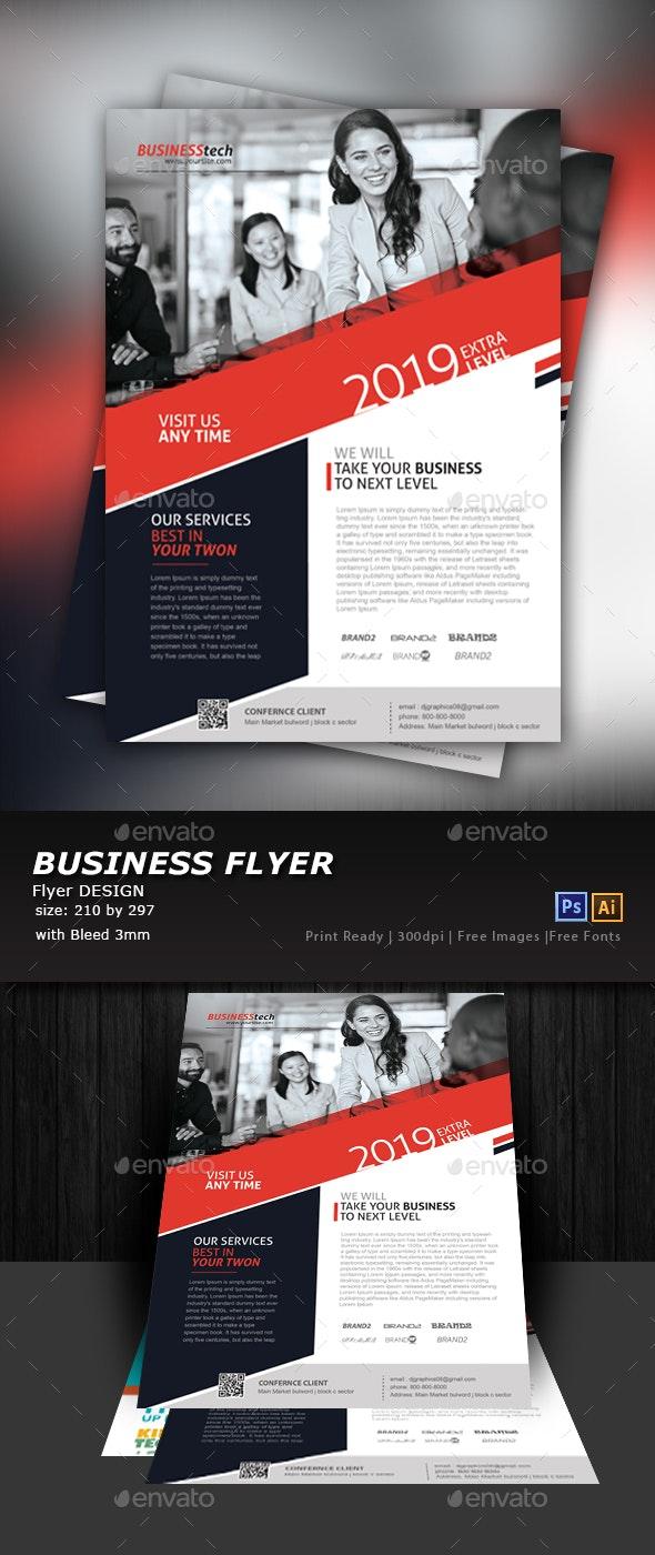 Business Flyer Design - Corporate Flyers