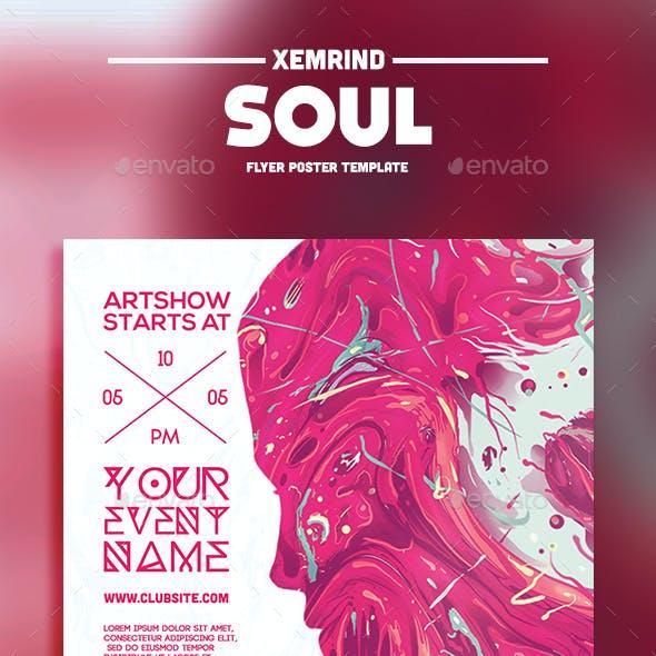 Soul Flyer Template