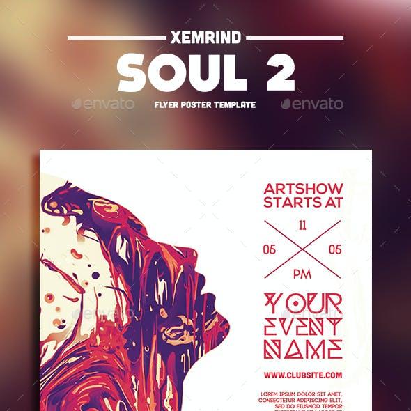 Soul 2 Flyer Template