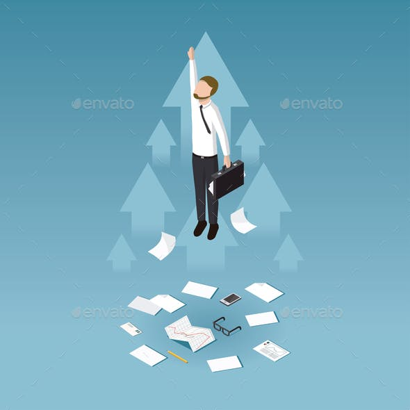 Business Growth Concept Illustration