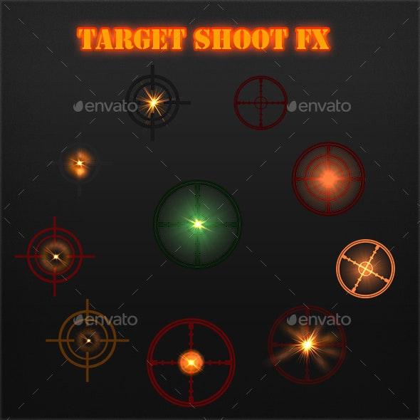 Target Shoot FX - Sprites Game Assets