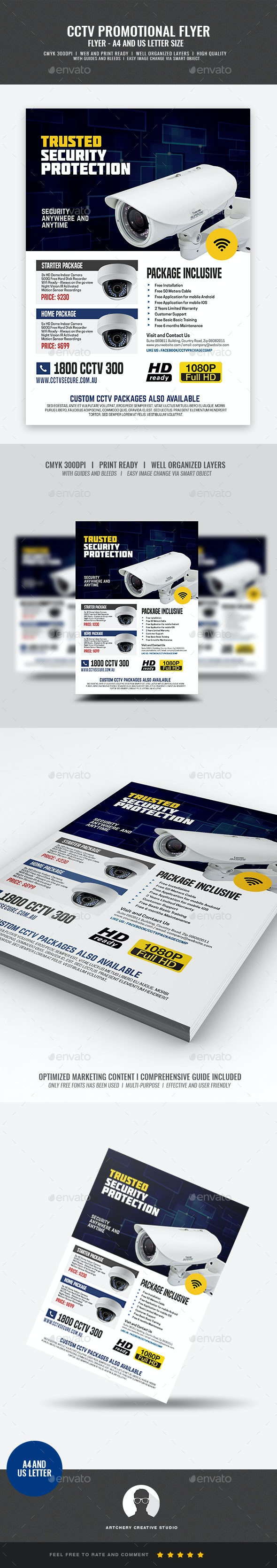 CCTV Shop Promo Flyer - Commerce Flyers