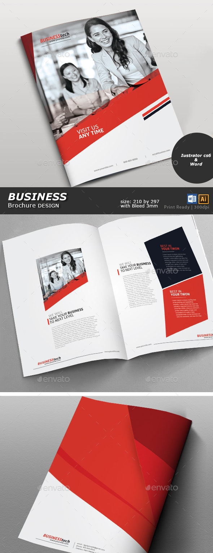 Business Brochure Designer - Brochures Print Templates
