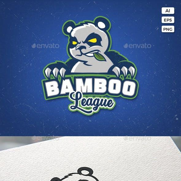 Angry Panda Sport Logo Template