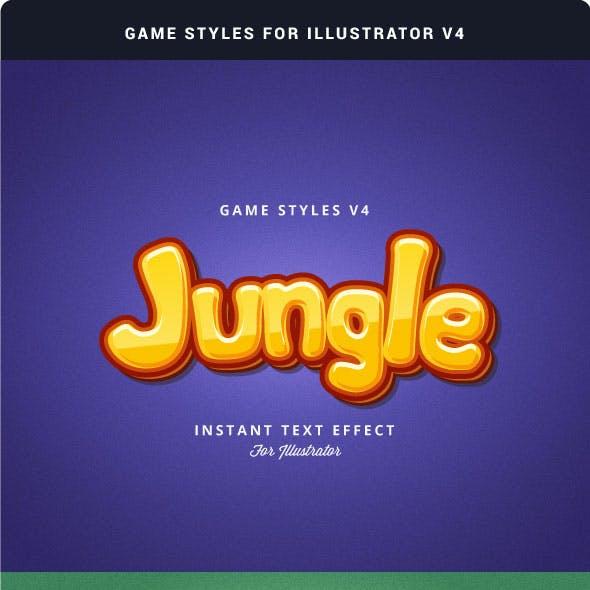 Game Styles for Illustrator V4