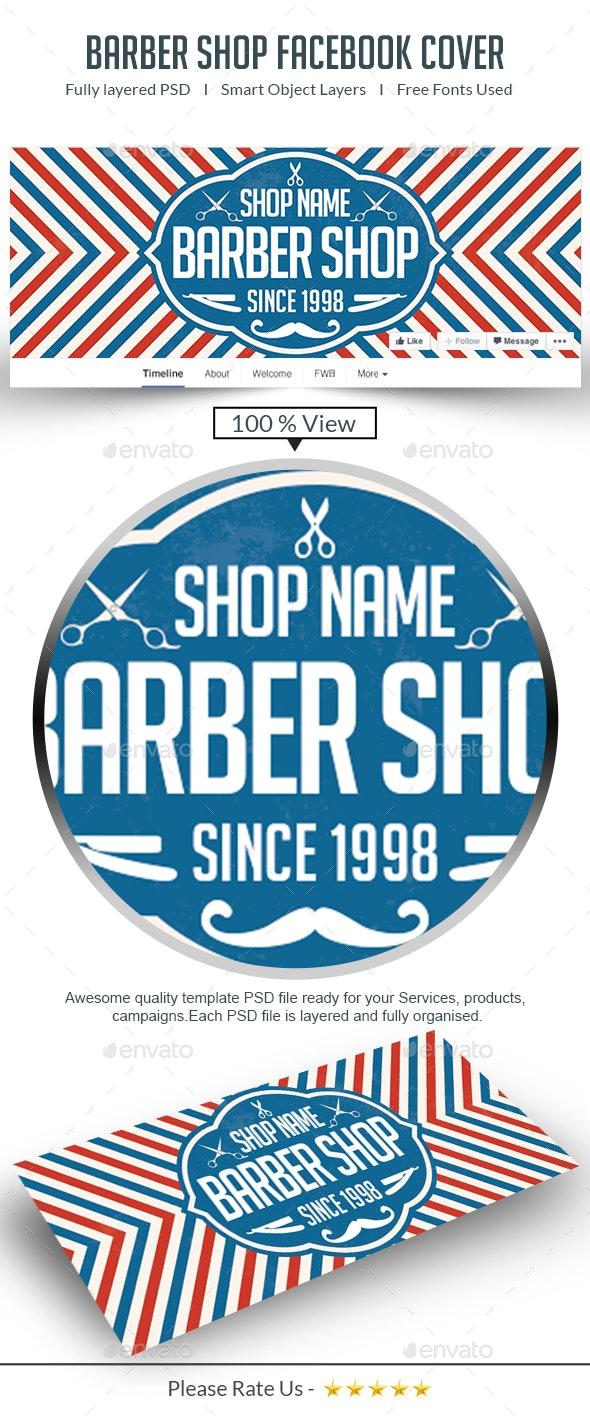 The Barber Shop - Facebook Timeline Cover - Facebook Timeline Covers Social Media