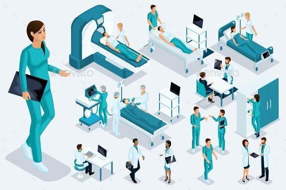 Isometrics Nurse - Health/Medicine Conceptual