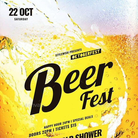 Beer Fest Flyer