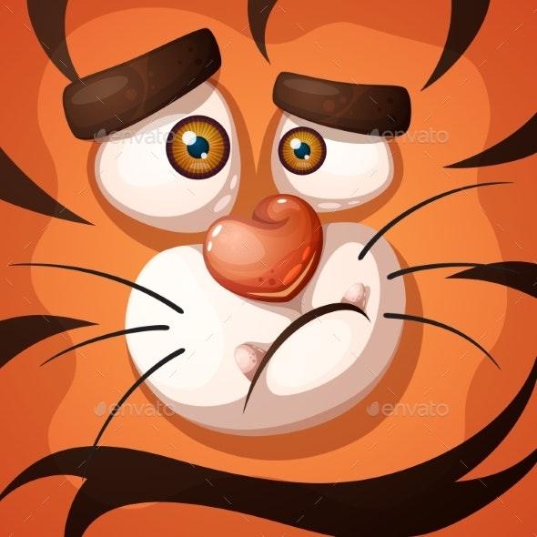 Tiger Character. - Animals Characters