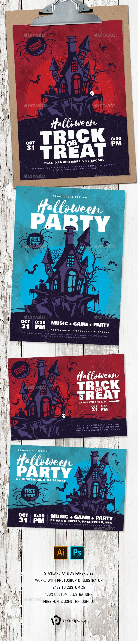 Halloween Flyer / Poster - Holidays Events