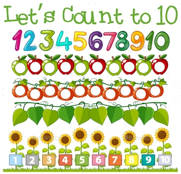 Math Count Number Template - Miscellaneous Conceptual