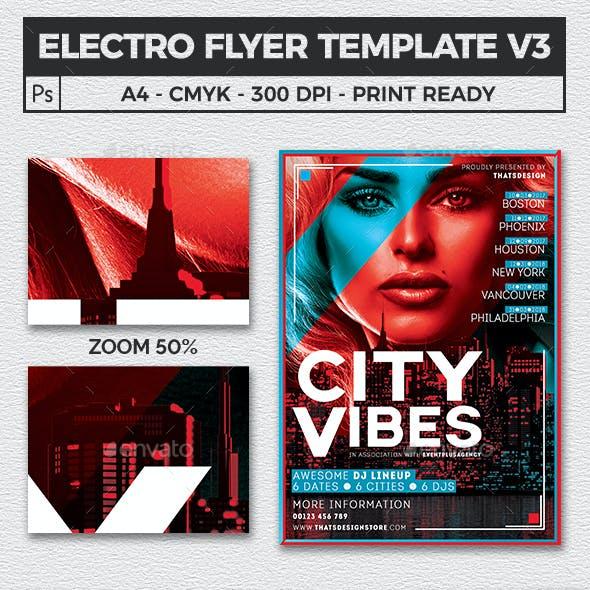 Electro Flyer Template V3