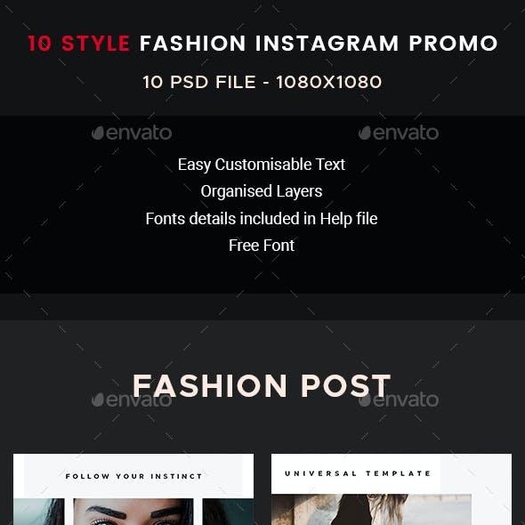 10 Instagram Promo Post