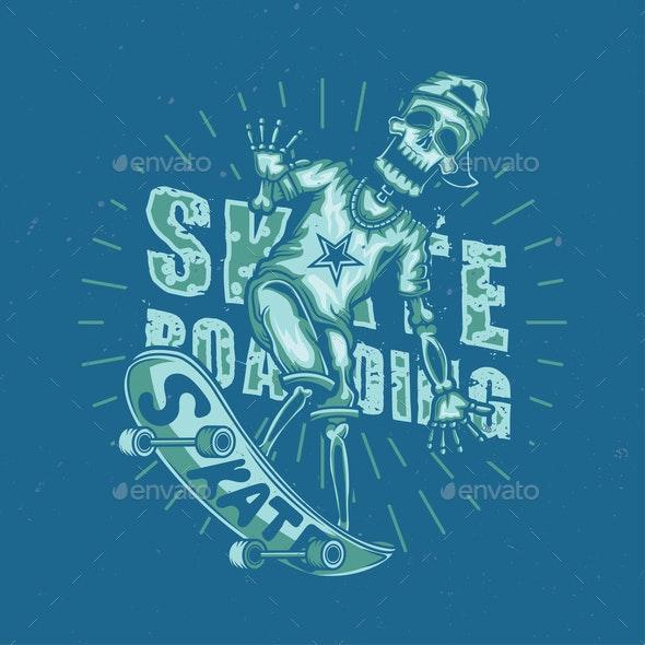 Skateboarding - Sports/Activity Conceptual