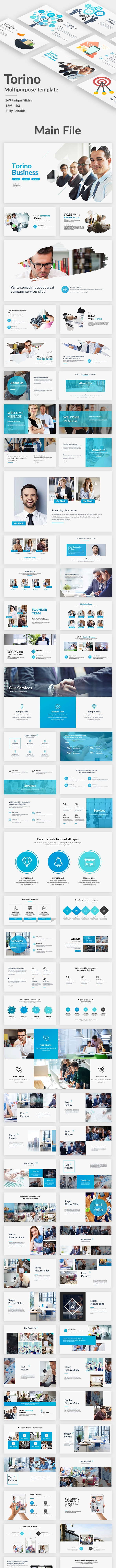 Torino Multipurpose Google Slide Template - Google Slides Presentation Templates