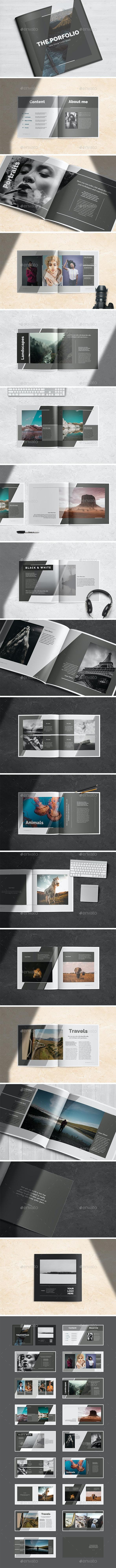Multipurpose Porfolio Template - Brochures Print Templates