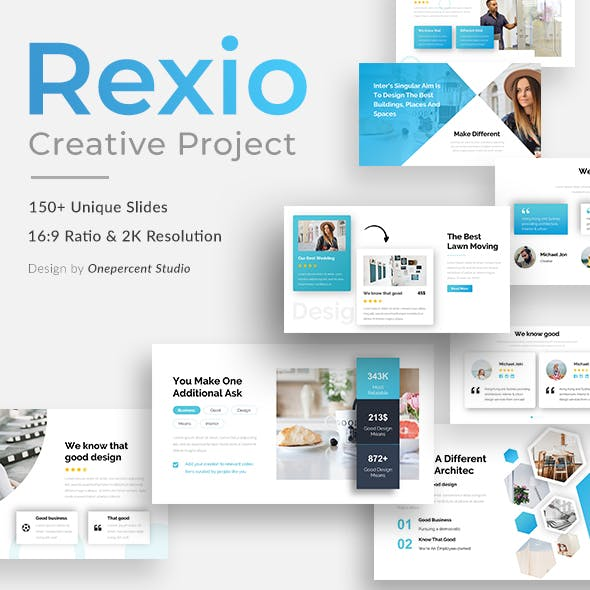 Rexio Creative Powerpoint Template