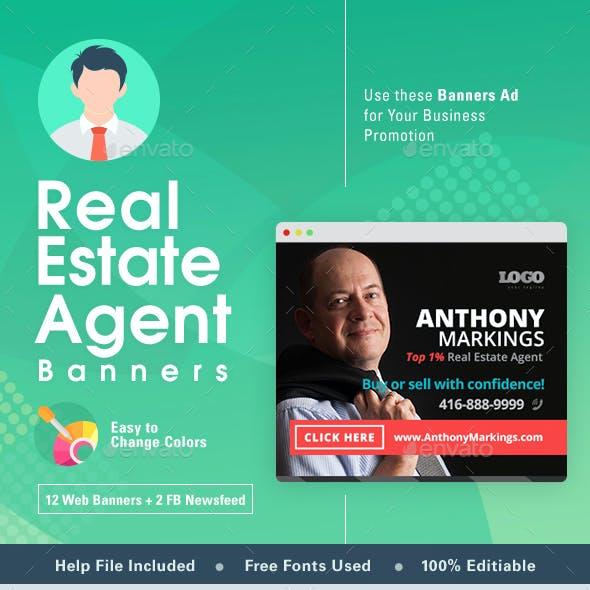 Real Estate Web Banner Set