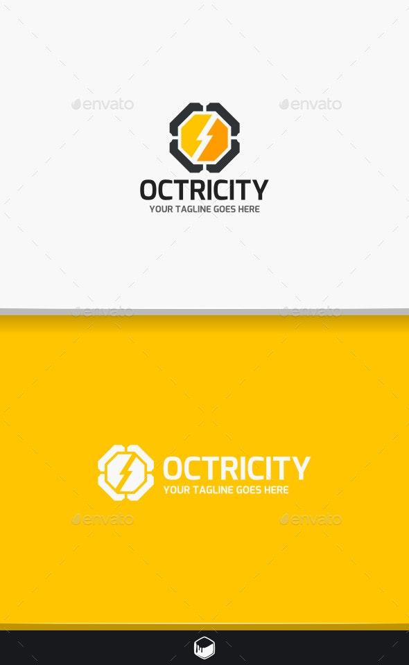 Octagon Electro Logo