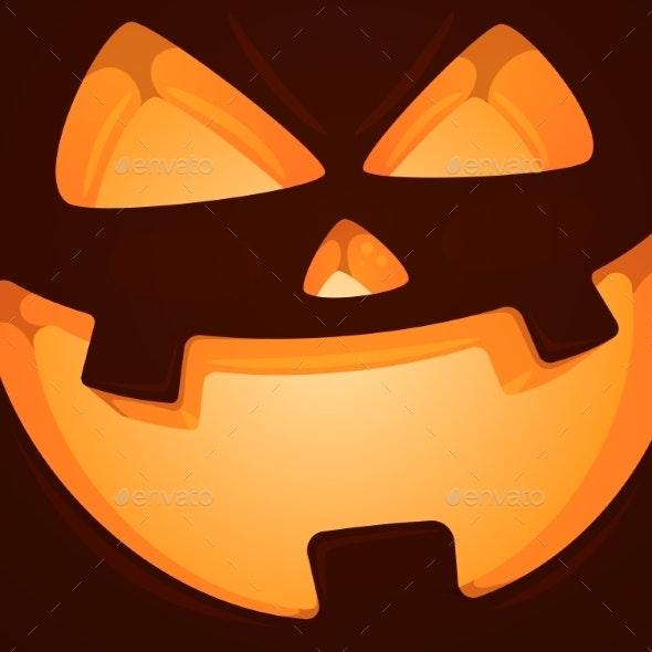 Pumpkin Halloween Illustration - Halloween Seasons/Holidays