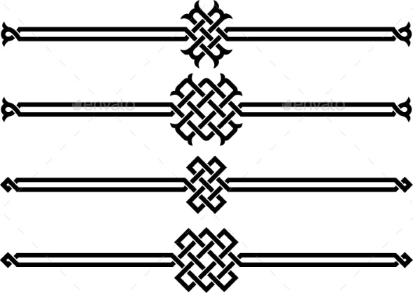 Wicker Ornaments - Miscellaneous Vectors