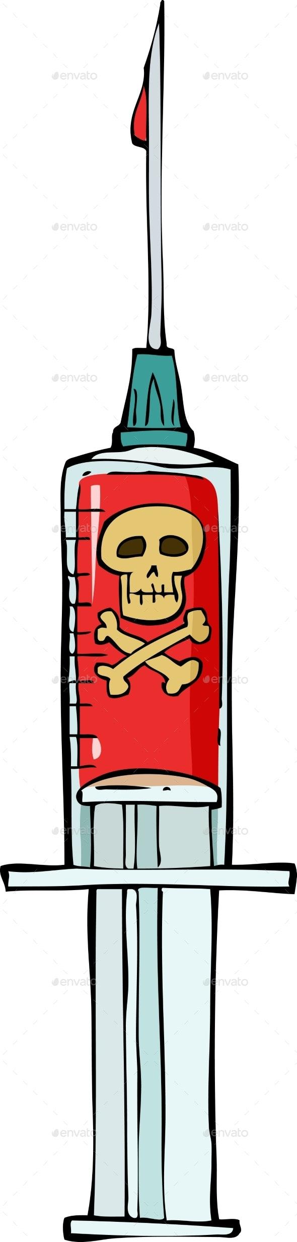 Syringe - Health/Medicine Conceptual