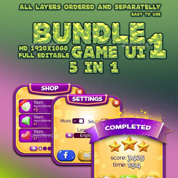 Bundle GUI Pack #1
