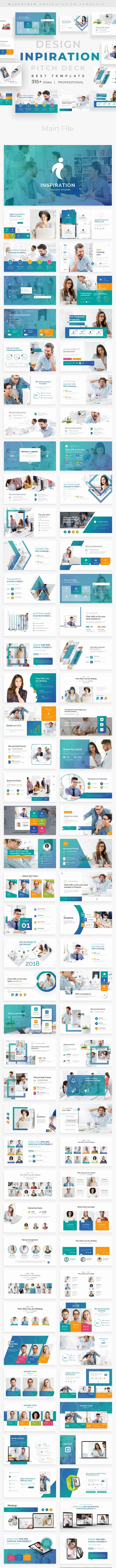 Design Inpiration Pitch Deck Google Slide Template - Google Slides Presentation Templates