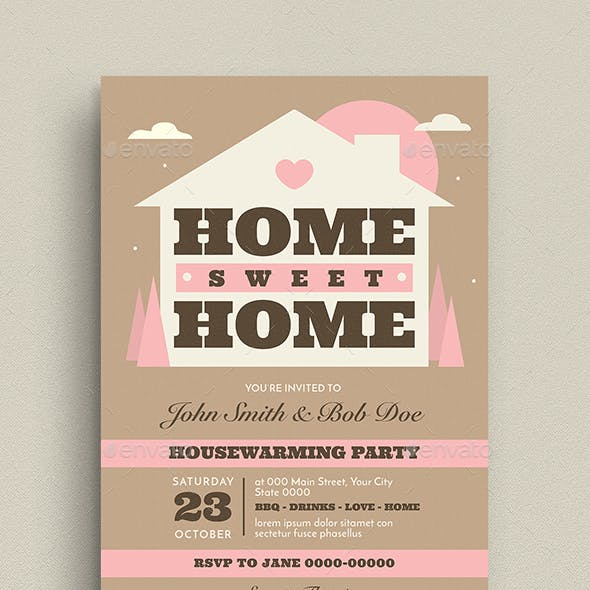 House Warming Event Flyer/Invitation