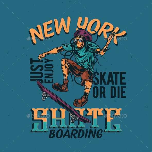 Skateboarding Design - Sports/Activity Conceptual