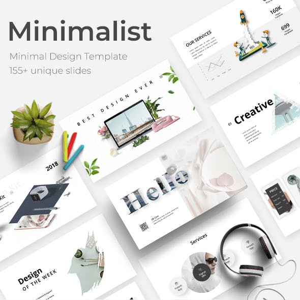 Minimalist 2019 Google Slide Template