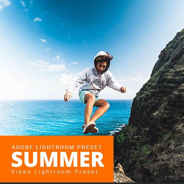 20 Summer Vibes LR Preset