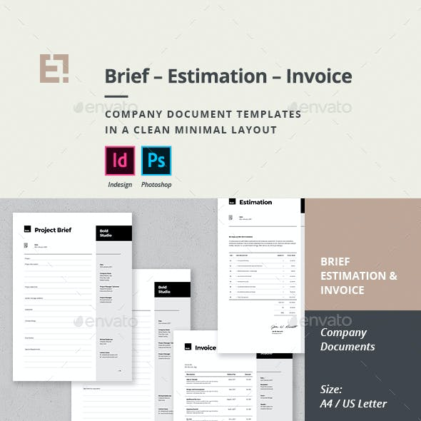 Invoice Estimation Brief
