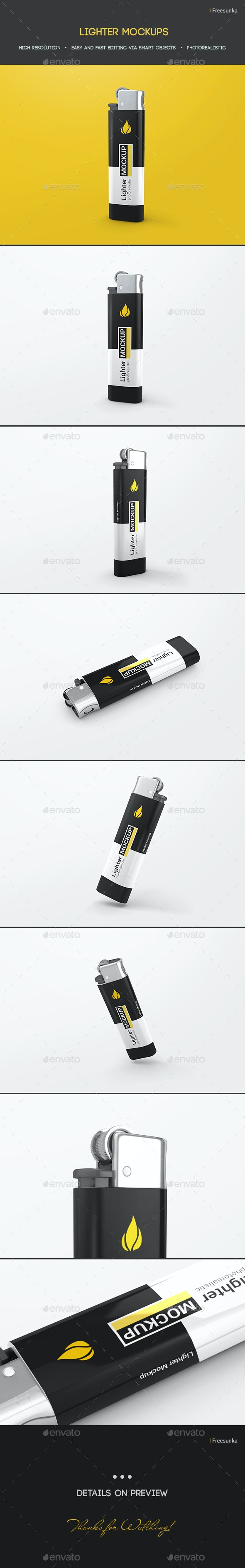 Lighter Mockups - Miscellaneous Print