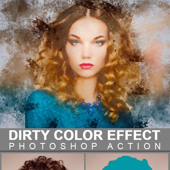 Dirty Color Effect Photoshop Action