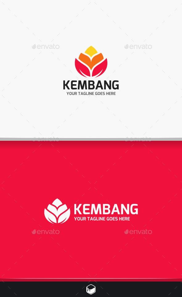 Flower Kembang Logo - Nature Logo Templates