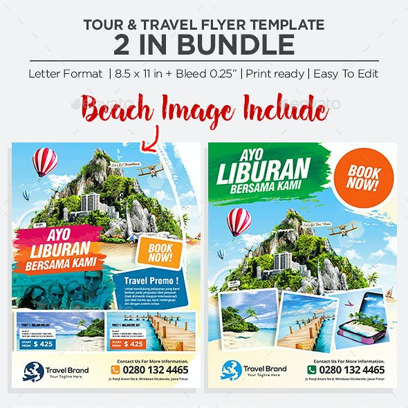 Travel Flyer - Bundle