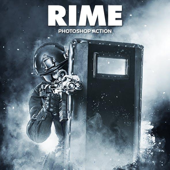 Rime Photoshop Action