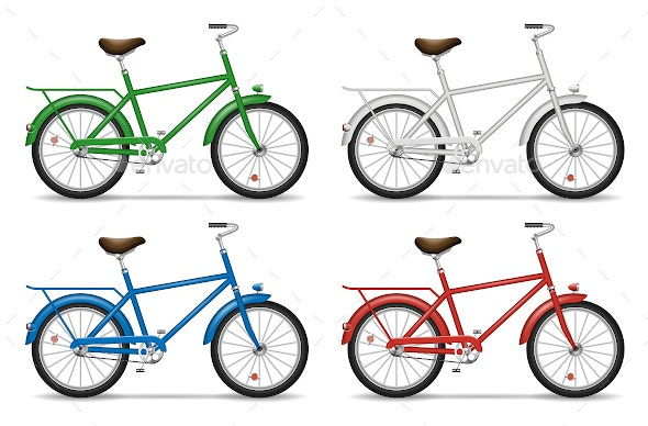 Bicycle - Man-made Objects Objects