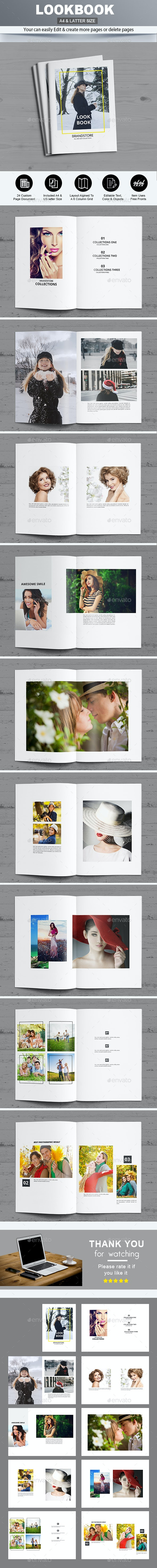 Fashion Lookbook - Photo Albums Print Templates