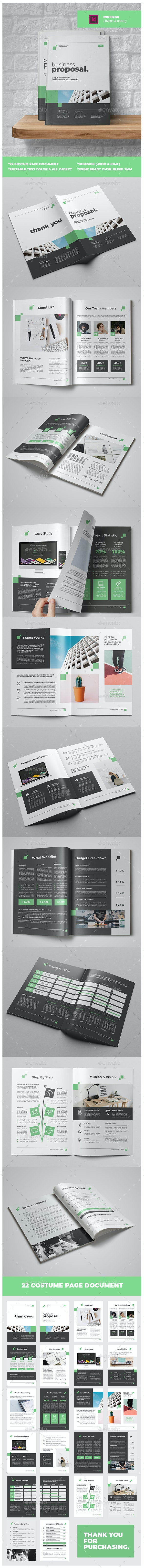 Busiines Proposal Vol.2 - Proposals & Invoices Stationery