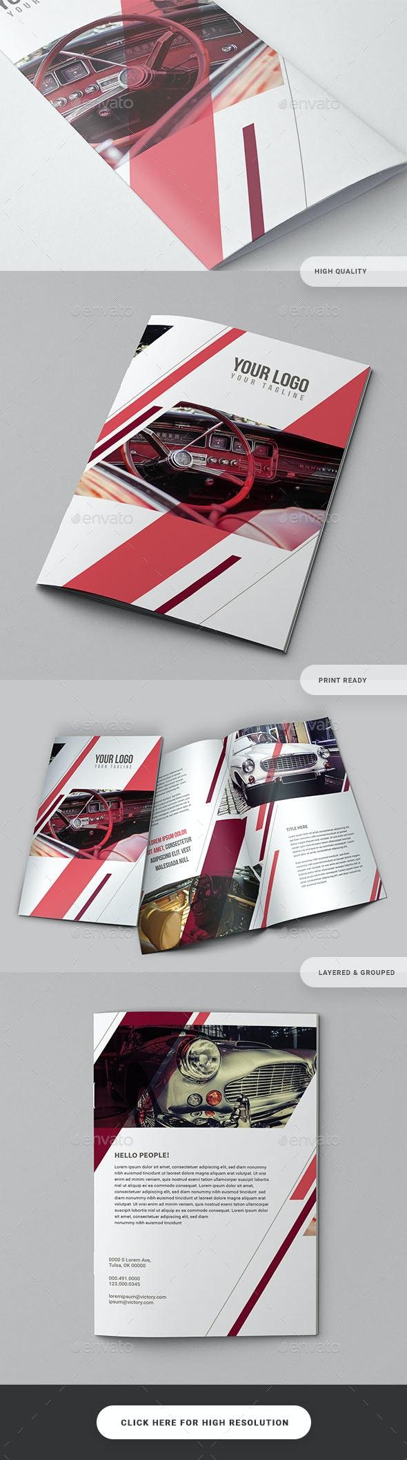 Bifold Business Catalog Brochure - Catalogs Brochures