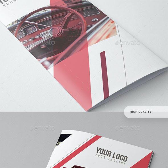 Bifold Business Catalog Brochure